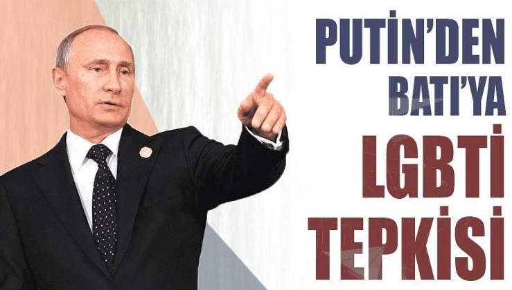 Putin'den Batı'ya LGBTİ çıkışı: İnsanlık suçu