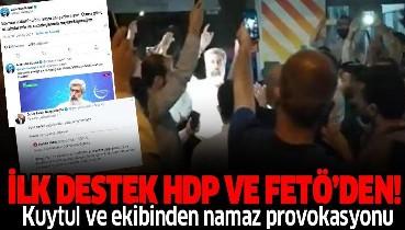 Alparslan Kuytul ve ekibinden Adana'da 'namaz' provokasyonu! İlk destek HDPKK ve FETÖ'den geldi