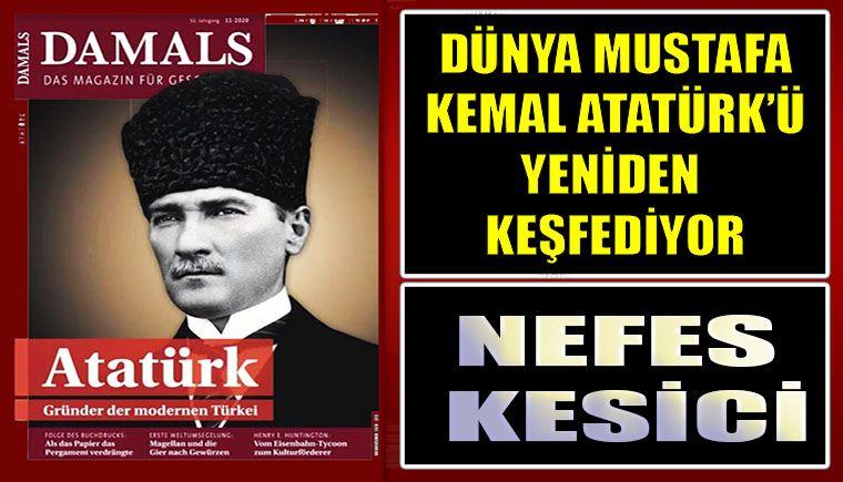 Ünlü dergiden Atatürk dosyası