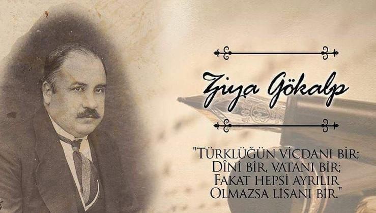 """Ziya Gökalp'i saygıyla anıyoruz. """"Hilâl; haça yenilmesin, Amin! Türklük bitti denilmesin, Amin!"""""""