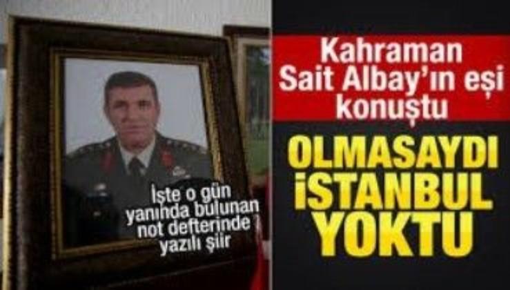 Kurmay Albay Sait Ertürk, tanımalı onu her TÜRK: Tankları durdurmak isterken şehit oldu