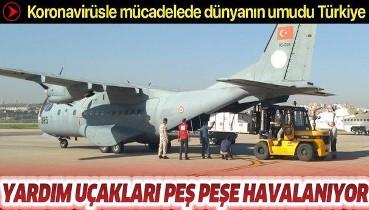 Türkiye'den Kuzey Makedonya Cumhuriyeti ve Arnavutluk'a tıbbi yardım malzemesi