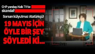 Halk TV sunucusu Ayşenur Arslan TRT'yi eleştireyim derken rezil oldu!