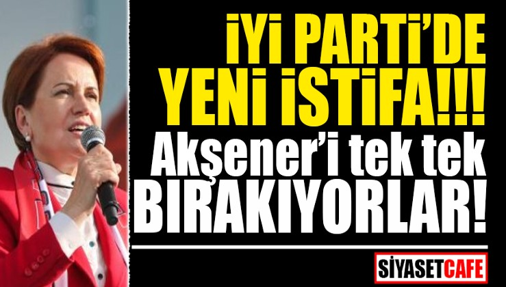 İyi Parti'de HDP istifası