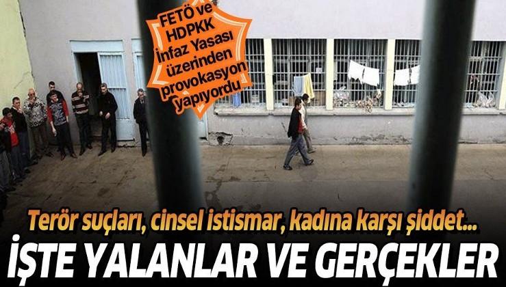 FETÖ, HDP'liler provokasyon yapıyordu... İşte İnfaz Kanunu'na ilişkin yalanlar ve gerçekler!