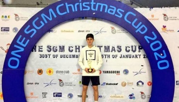 Milli tenisçi Atakan Karahan'dan tarihi başarı