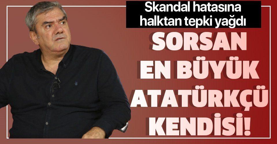 Yılmaz Özdil'in skandal hatasına halktan tepki yağdı