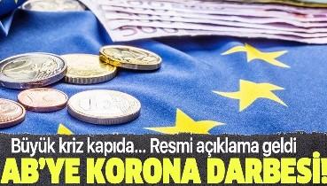 Son dakika: Avrupa Birliği ekonomisine koronavirüs darbesi! Yüzde 7,4 küçülecek