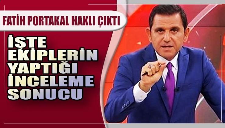 Fatih Portakal, iddialarla ilgili açıklama yapmıştı