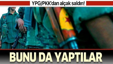 YPG/PKK Deyrizor'da sığınmacı kampını ateşe verdi.