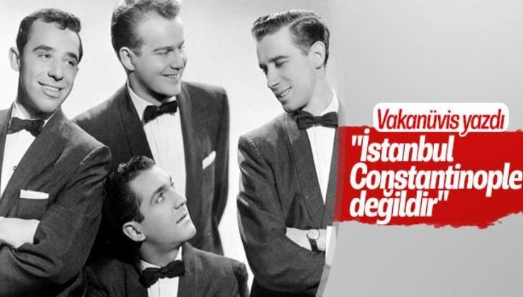 Sıradaki şarkı Biden'e gelsin: İstanbul Constantinople değildir