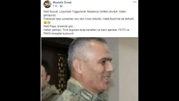 FETÖ'cüler sosyal medyada sazan avlıyor: Türk komutanı öldürdüler!
