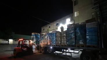 Son dakika: Türkiye'nin gönderdiği tıbbi malzemeler Gazze'ye ulaştı