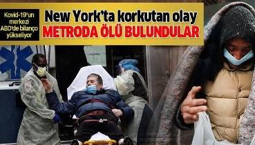 New York'ta evsizler metroda ölü bulunuyor, kent yönetimi önlem almıyor