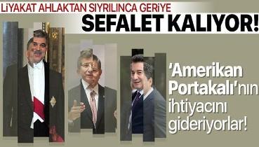 Abdullah Gül, Ali Babacan ve Ahmet Davutoğlu'na tepki: FOX TV'nin Amerikan Portakal'ının ihtiyacını gideriyorlar