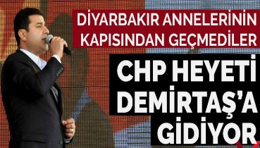 CHP heyeti, Selahattin Demirtaş'ı ziyaret edecek