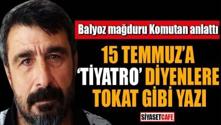 """""""BU MELUN ÖRGÜTÜN ESAS DERDİ ERDOĞAN DEĞİLDİR"""""""