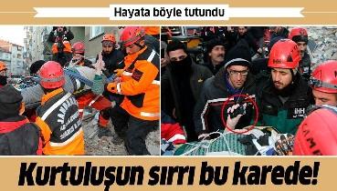 Elazığ'da bir mucize kurtuluş daha! Cep telefonu ile yerini bildirdi, 13 saat sonra enkazdan kurtarıldı.