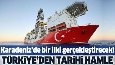 Son dakika: Türkiye'den tarihi hamle! Karadeniz'de bir ilki gerçekleştirecek