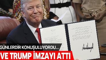 Son dakika: ABD Başkanı Trump, ABD'ye göçmen kabulünü 60 gün askıya alan kararnameyi imzaladı