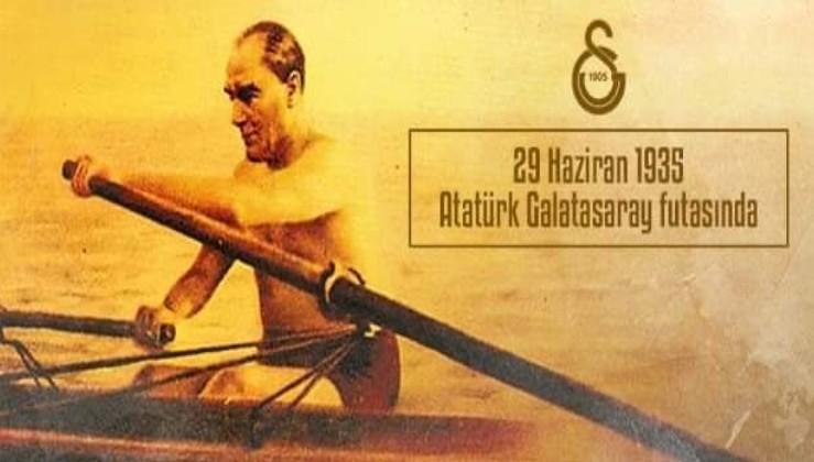 Ulu Önder Gazi Mustafa Kemal Atatürk, Galatasaray futasında