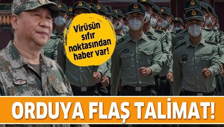 Koronavirüsün sıfır noktasından flaş karar! Çin'de orduya talimat verildi!
