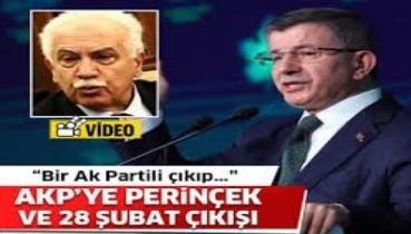 Davutoğlu: AKP, Perinçekle işbirliği yapıyor!