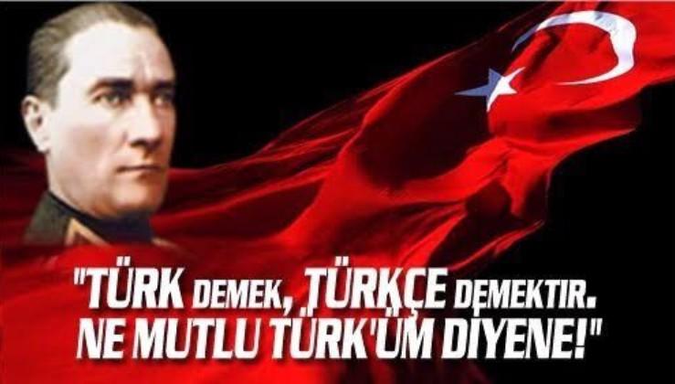 Türk Dil Bayramı'nın 742. yıl dönümü kutlu olsun!