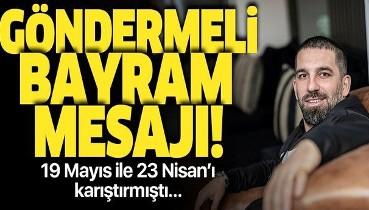 Arda Turan'dan göndermeli bayram mesajı: Kurban Bayramımız...