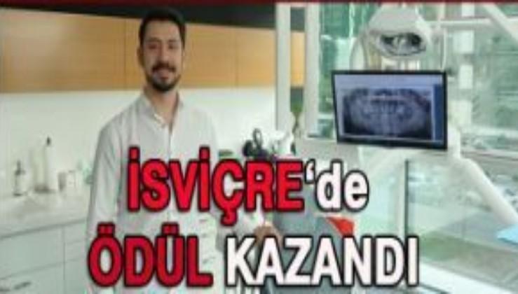 Türk bilim insanı lazerle kemik geliştiren araştırmasıyla ödül aldı