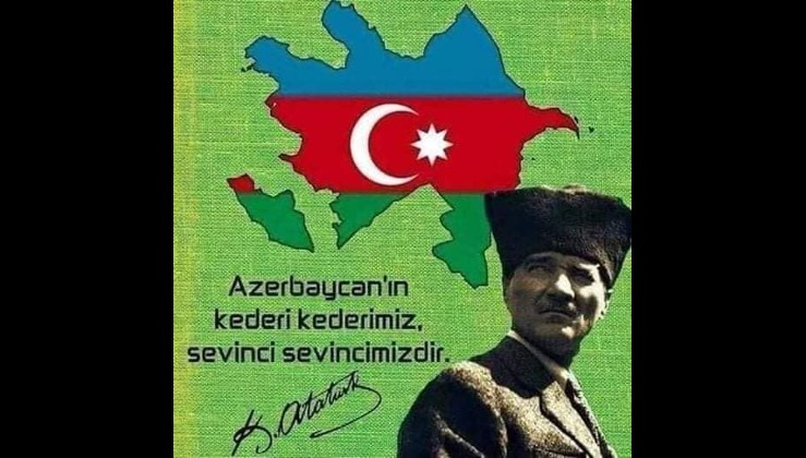 Azerbaycan Cumhuriyetinin 31.kuruluş yıldönümü kutlu olsun. İKİ DEVLET TEK MİLLET