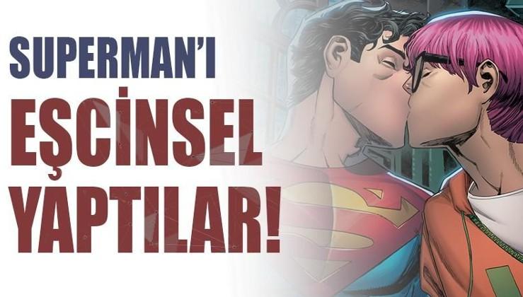 Süpermen gay oluyor