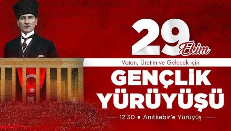 Türk Gençliği 29 Ekim'de Anıtkabir'e!