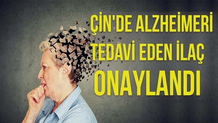 ÇİN'DE ALZHEİMERİ TEDAVİ EDEN İLAÇ ONAYLANDI