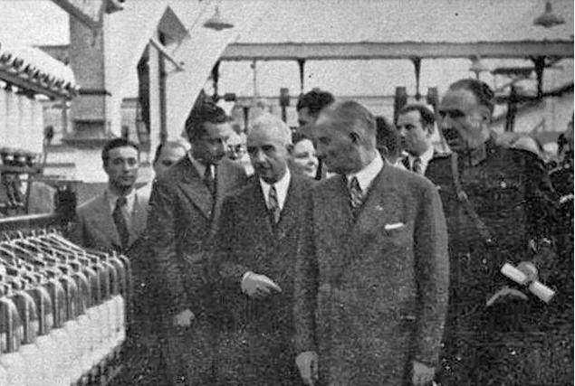 """""""Devlet Fabrika Kurmalı mı?"""" Sorusunun Yanıtı Burada: Cumhuriyetimizin Kurucusu Büyük Önder Atatürk'ün Kurduğu Fabrikalar"""