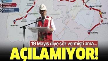Son dakika: Mecidiyeköy-Mahmutbey Metro Hattı açılışı ertelendi