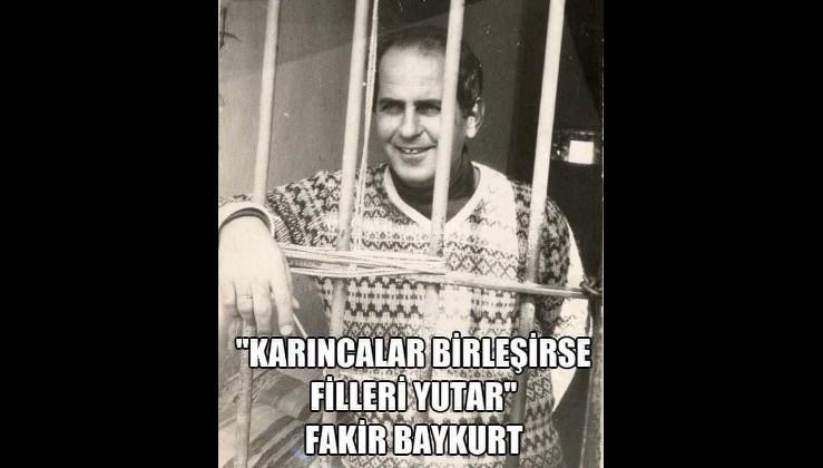 Türk edebiyatının usta isimlerinden Fakir Baykurt'un 91. doğum günü