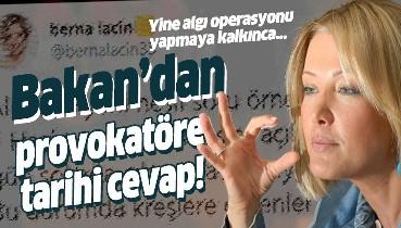 Berna Laçin'e cevap!