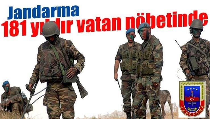 Reklamlar  Jandarma, 181 yıldır vatan nöbetinde