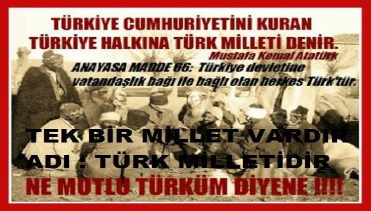 Türk; Atatürk'e göre, yıldırımdı, kasırgaydı, dünyayı aydınlatan güneşti.