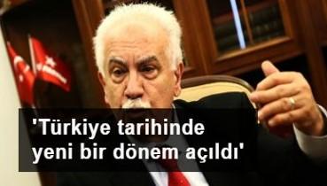 Doğu Perinçek: Türkiye tarihinde yeni bir dönem açıldı