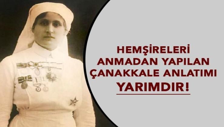 Hemşireleri Anmadan Yapılan Çanakkale Anlatımı Yarımdır!