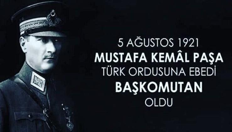 Ebedi Baş kumandan Gazi Mustafa Kemal Atatürk