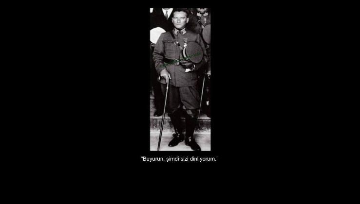 Mussolini'ye tarihi yanıt!