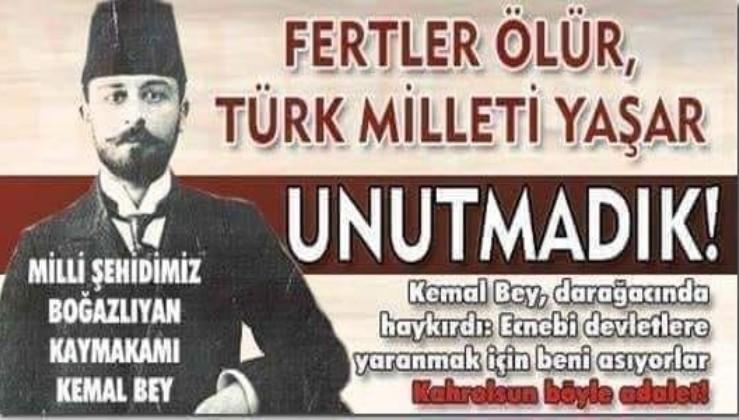 Milli Şehidimiz Mehmet Kemal Bey