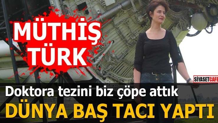 Doktora tezini biz çöpe attık dünya baş tacı yaptı Müthiş Türk