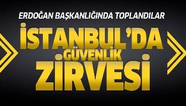 Son dakika: Dolmabahçe'de Cumhurbaşkanı Erdoğan başkanlığında güvenlik zirvesi.