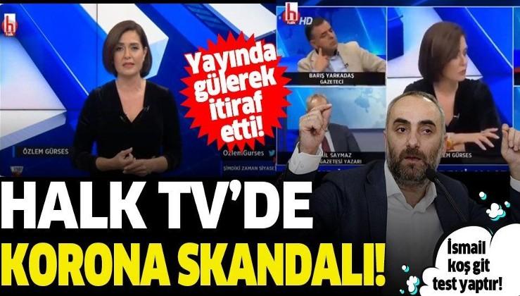 Halk TV'de koronavirüs skandalı: Test sonucumu bekliyorum