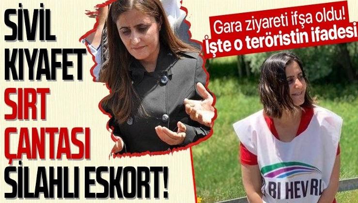 Son dakika: HDP'li Ağrı Milletvekili Dirayet Dilan Taşdemir'i Gara'da gördüğünü söyleyen teröristin ifadesi ortaya çıktı!