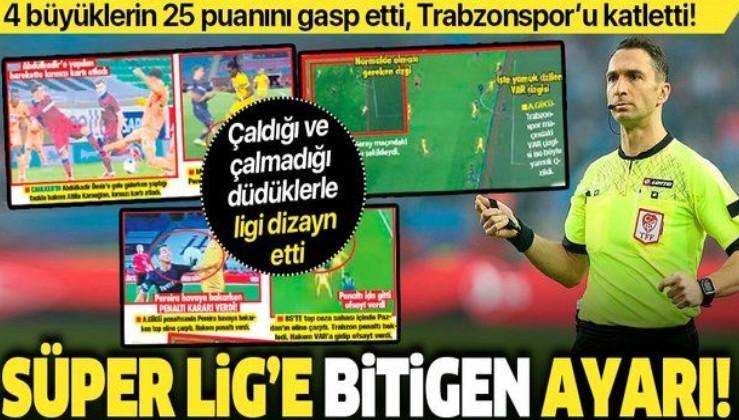 Süper Lig'e Abdulkadir Bitigen ayarı: 4 büyüklerin 25 puanını gasp etti, Trabzonspor'u katletti!